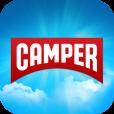 【Have a Camper Day】手作り感溢れるデザインが楽しい、楽器みたいなお天気アプリ。