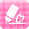【楽画cute】プリ機メーカーのらくがきアプリ★本格的なプリクラ風画像ができちゃいます!