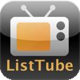 【ListTube】YouTube動画のプレイリストを簡単作成、連続再生できるアプリ。