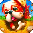 【Diggin' Dogs】3匹のワンちゃんがキュートな穴掘りアクションゲーム。