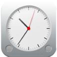 【Audio Clock】音楽プレーヤーと時計が一体化したアプリ。シンプルお洒落なデザインがGood!