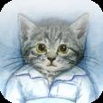 【ぐっすり~ニャ/睡眠記録】就寝中の動きから睡眠の状態を知る為のアプリ。キュートな猫ちゃんも登場♪