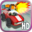 【Mini Beasts HD】バギーを運転しながら追ってくる敵を倒そう!