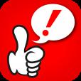 【片手でTwitter サムズアップ!(Thumbs up!) 】「◯◯しながらTwitter」を強力にサポート!片手親指でほとんどの操作ができるTwitterクライアントアプリ。
