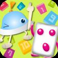【ぷっちょ×ワオっち!すうじばん】「ぷっちょ」と知育アプリ「ワオっち!」がコラボ!ゲーム感覚で数字の並びを学べるアプリ。