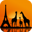 【Geo Walk HD】立体的な地球儀を回して世界中の歴史や人物、動植物について学べるアプリ。