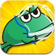 【宇宙カエル兄弟】カエル兄弟を宇宙まで導くゲーム。画面タップでひたすらジャンプ!