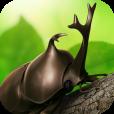 【カブトムシ】リアルな3Dイメージや実際の動画でカブトムシを観察できるアプリ。
