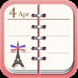 【DecoCal】女子必見!可愛い上に高機能なデコれるカレンダーアプリ。