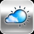 【天気°】スタイリッシュなデザインの天気情報アプリ。バッジで気温がすぐ分かる。