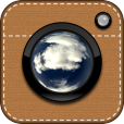 【ビー玉と共に MarbleCam】思わず写真を撮りたくなる♪ ビー玉にピントを合わせたような写真に仕上がるカメラアプリ。
