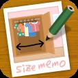 【写真にサイズメモ】引越しや模様替えに便利!家具などの写真にサイズをメモできる採寸お手伝いアプリ。