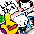 【fourframe】オリジナル4コマ/1コマ漫画作成アプリ。正方形画像で保存できる!