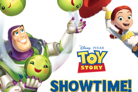 Toy Story Showtime!】キャラクター達が動く!トイ・ストーリー
