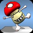 【キノコバランス】リアルな動きがたまらない!ひとりでもみんなでも楽しめる、風変わりなバランスゲーム。