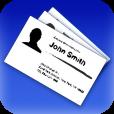 【Biz.Cards】クールなデザインが◎!名刺をカバーフローのように閲覧できる名刺管理アプリ。
