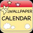 【My Wallpaper Calendar】好きな写真を背景にできる!オリジナルカレンダー画像作成アプリ。