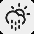 【Weather Neue】インテリアとしても◎!シェイクで更新できるシンプルなお天気アプリ。