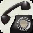 【Landline (黒電話) 】黒電話を再現したレトロな電話アプリ。アドオンで可愛く着せ替えも♪