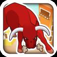 【BULLDASH】ランニング初心者にオススメ。雄牛に追われているかのような心境で走れるジョギングアプリ。