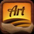 【Sand Art】幻想的なサンドアートの世界を再現したアプリ。リアルな砂でお絵描きしよう♪