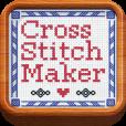 【Cross Stitch Maker】可愛らしい刺しゅう風の画像をつくろう!