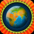 【ベアフット ワールドアトラス】ずっと眺めていたくなるミニチュア地球アプリ。動くイラストで世界を知ろう。