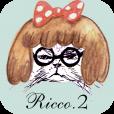 【Ricco2】イラストレーターRicco.の世界観を楽しめる写真コラージュアプリ第二弾。