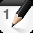 【MemoCal mini】直接手描きができるカレンダーアプリ。アイコンや壁紙で賑やかに♪