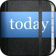 【Everyday Notes】カレンダーの予定も取り込んで毎日を記録できる日記アプリ。ノート風デザインが素敵。