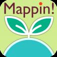 【Mappin!】お気に入りの場所をたくさん作って世界を広げよう!Googleマップへの切り換えも可能な地図アプリ。