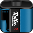 【Rollie by Fabulously Retro】カメラロール内に余計な写真を増やさないためのアプリ。これは意外と使えます♪