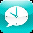 【こえ時計】急いでいる時に大活躍。現在時間を声でおしらせしてくれるアプリ。