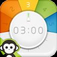 【ぐるぐるタイマー】 これは画期的! 日常のよくあるシーンで大活躍するタイマーアプリ。