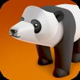 【Tiny Paper Zoo Plus】超お手軽! カワイイ動物たちのペーパークラフトを作成できるアプリ。