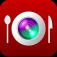 食事記録にも使えそう。 日付、場所などの情報を取得して料理写真をオシャレに加工するアプリ【InstaFood】