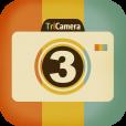 Facebookのカバー写真などにも良さげな、横長トリプルショット写真を撮影できるカメラアプリ【triptych】