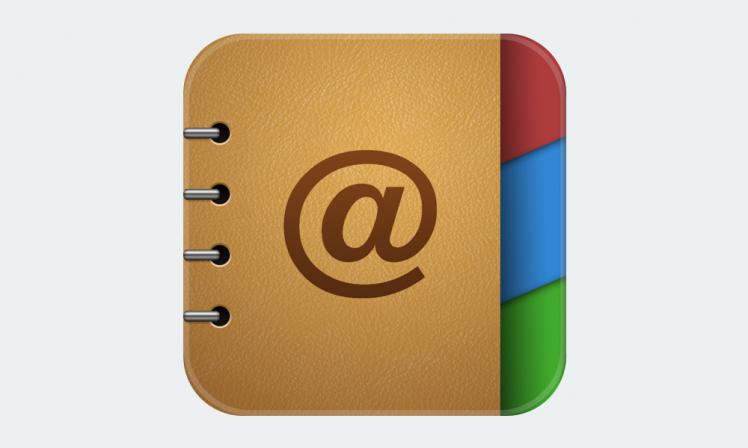 定番アプリ『i手帳』の開発元がリリースした『アドレス手帳』は、かゆい所に手が届く。