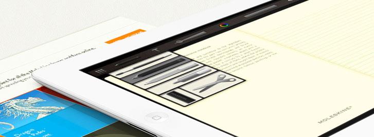 あの「モレスキン」をiPhoneでも。 無料で使えるMoleskine公式ノートアプリ『Moleskine journal』
