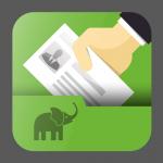 【600円 → キャンペーン価格:100円】iPhoneカメラで撮影した名刺を認識、OCR処理してEvernoteへ送信するアプリ『Business Card Clip』。