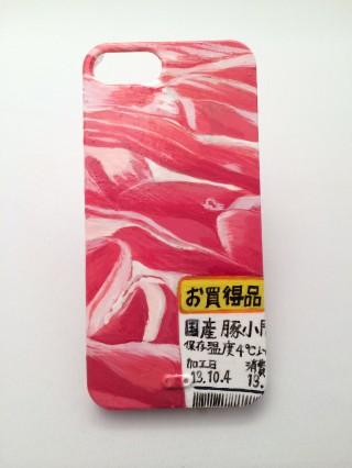 豚肉こま切れ iPhone5sケース :橋村至星